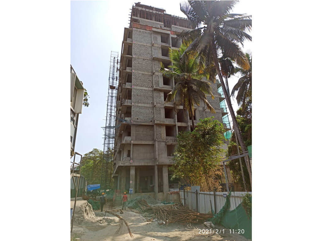 3 bhk luxury flats in punkunnam