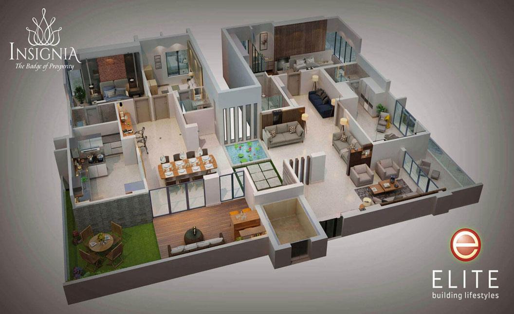 flats in trivandrum, kazhakkoottam